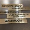 Thumbnail image for We make custom desk and wall signs!