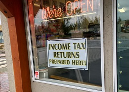 Post image for We prepare business & personal income taxes here!