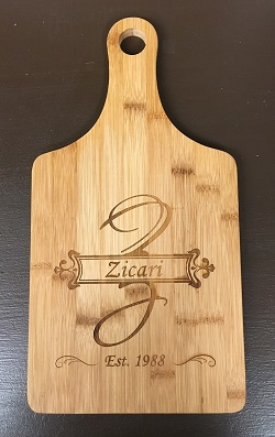 Post image for We carry custom bamboo cutting boards!